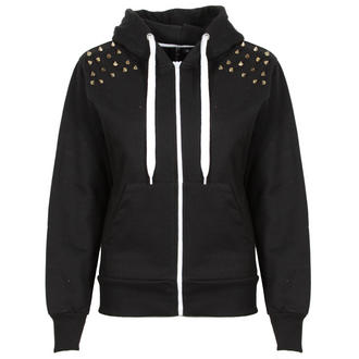 View Item Black Spiked Shoulder Hoody